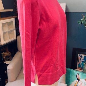 Eddie Bauer Sweaters - EDDIE BAUER Sweater Hot Pink Sz Lg Cotton Blend